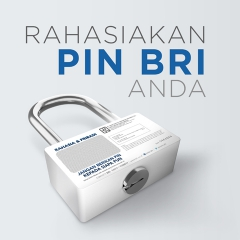 BRI – PROGRAM KERAHASIAAN PIN
