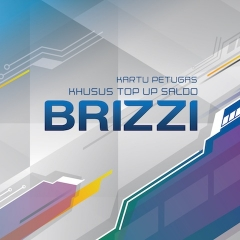 BRIZZI - KARTU TOP UP PETUGAS